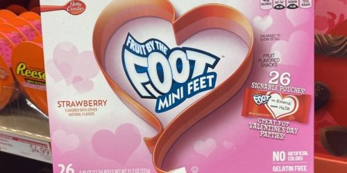 Valentine's Candy Treat Multipacks as Low as $2.95 at ALDI | Fruit By The Foot, Airheads & More