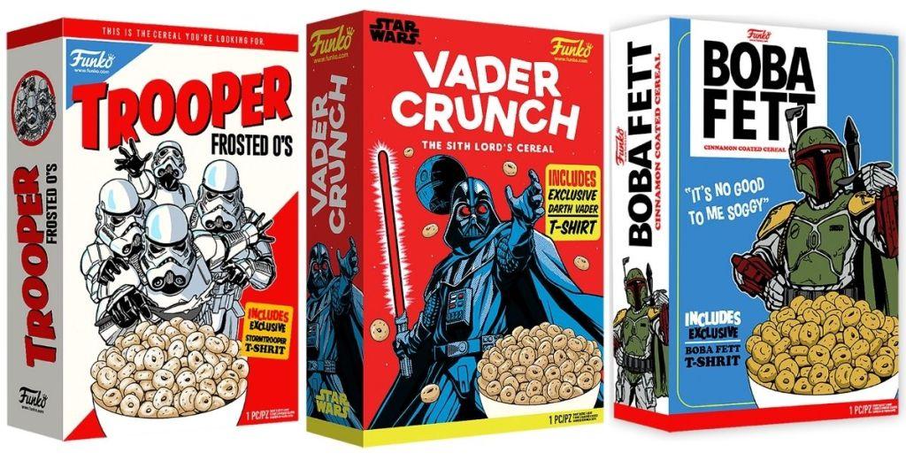 3 Funko Star Wars Boxed Tee Packaging