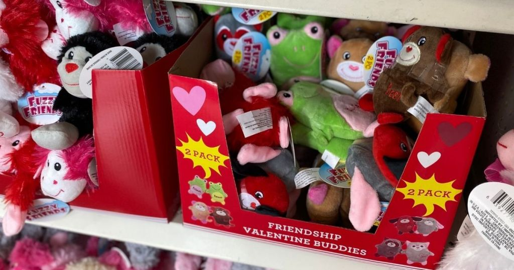 Fuzzy Friends 2-Pack in box