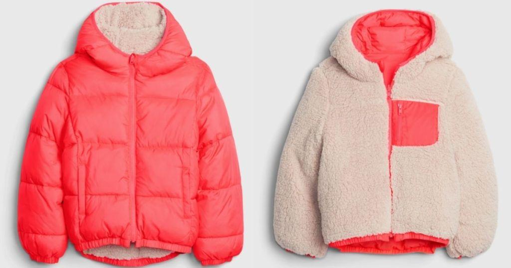 reversible jacket inside and outside