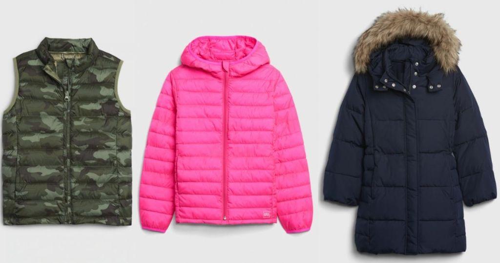 three kids jackets