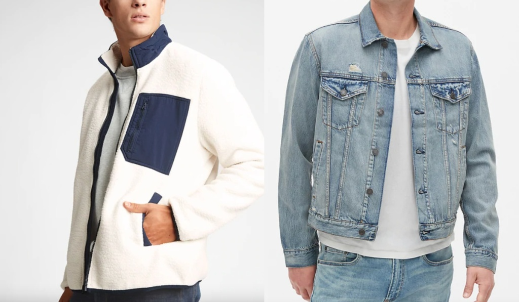 GAP mens jackets
