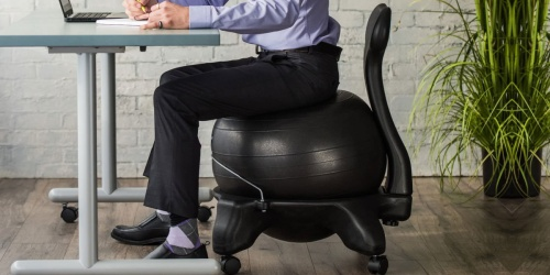 Gaiam Ergonomic Balance Ball Chair from $59.99 (Regularly $100) + Free Shipping for Select Kohl's Cardholders