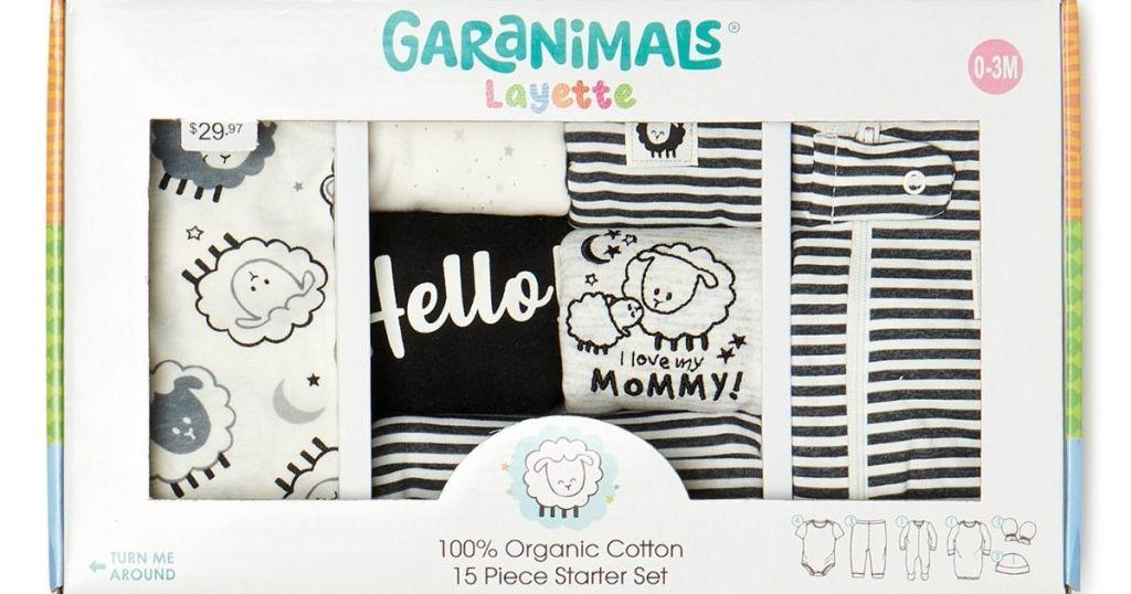 Garanimals 15-pc Layette in packaging