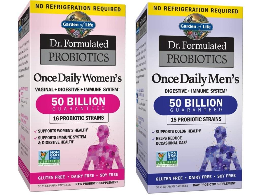 Garden of Life Once Daily Woomens & Men's Probiotics 50 Billion CFU, 30-Capsules