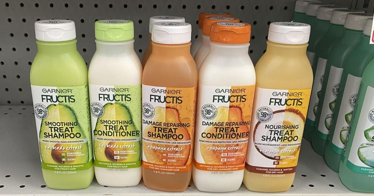 Garnier Fructis Treat Shampoos or Conditioners