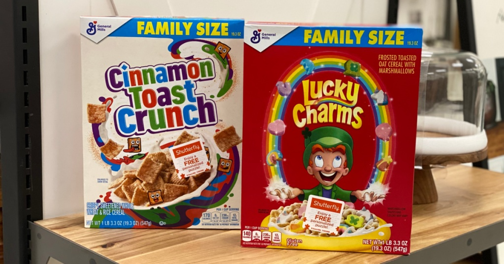 2 family size general mills cereals at target