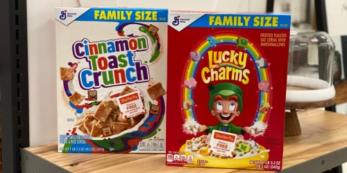 2 General Mills Family Size Cereals Just $6 at Target + FREE Personalized Shutterfly Puzzle