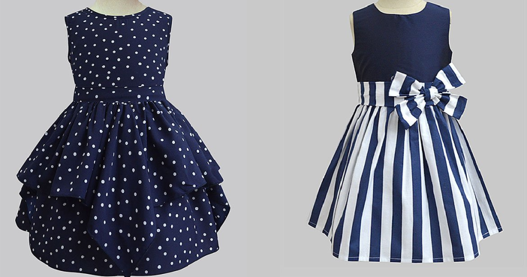 Girls Dresses in blue on Zulily