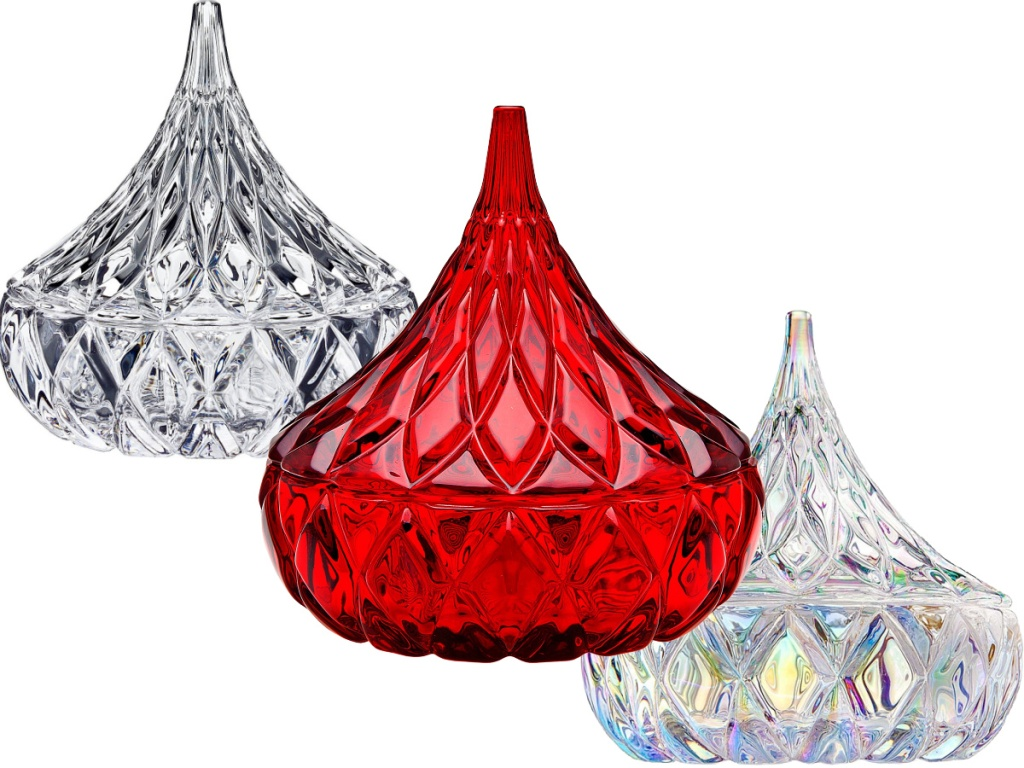 Godinger Hershey's Kiss Candy Dishes