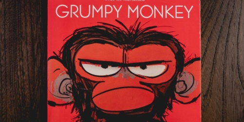 Grumpy Monkey Hardcover Picture Book Just $6.97 on Amazon (Regularly $18)