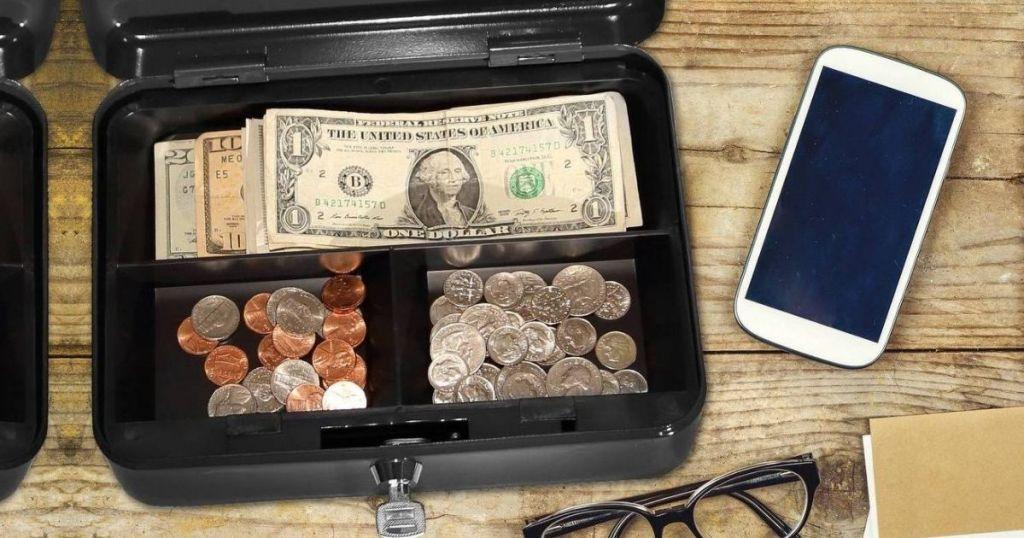 Honeywell Cash Box