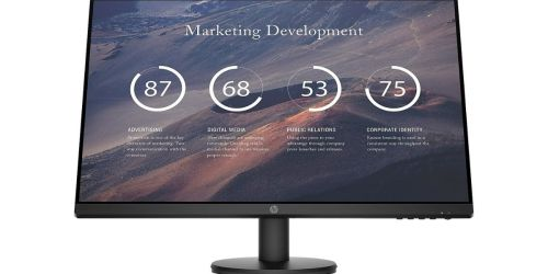 HP 27″ LED Monitor Only $104.99 Shipped on Staples.com (Regularly $150)