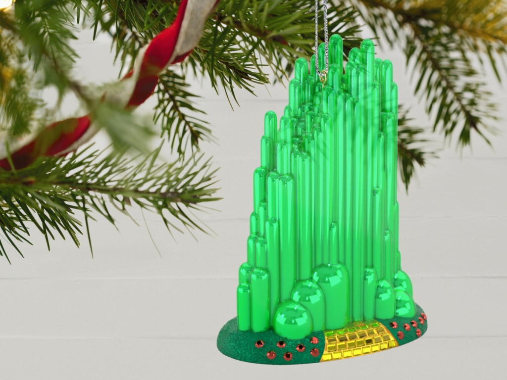 Wizard of Oz Emerald City Christmas ornament