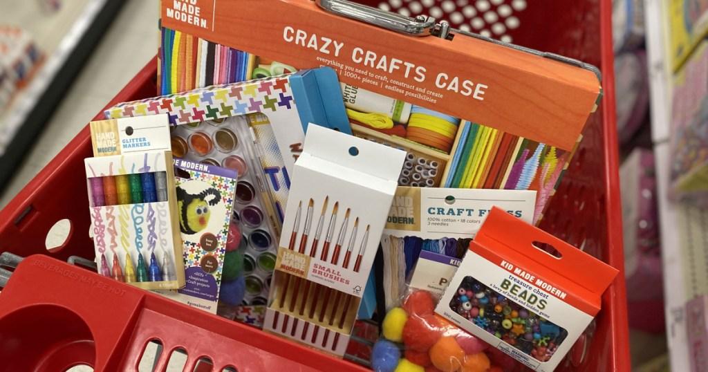 Hand Made Modern Crafts in target cart