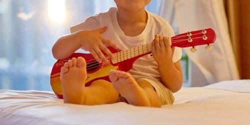 Hape Kids Wooden Toy Ukulele Just $12.60 on Amazon (Regularly $30)