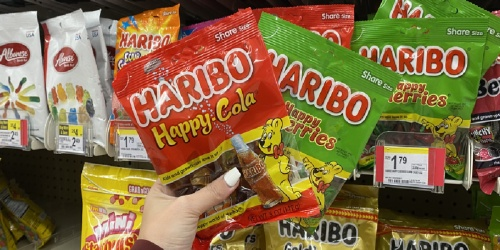 Haribo Gummi Candy Only 40¢ Each After Cash Back at Walgreens