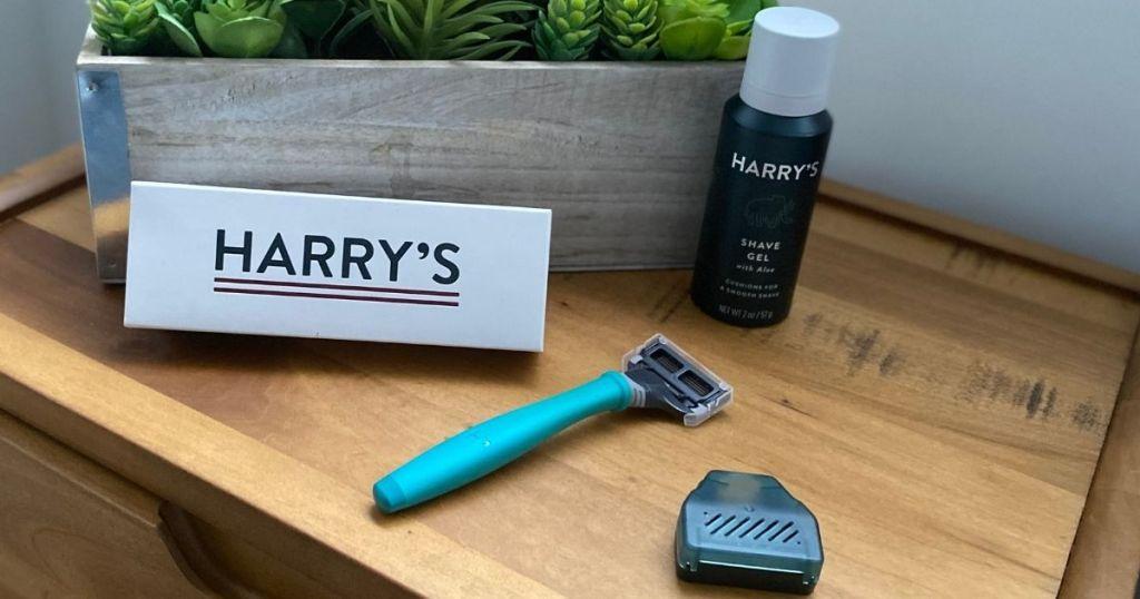 Harry's Razor and shave cream