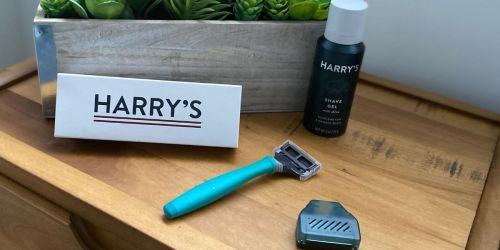 Harry's Shaving Kit with Razor & Shave Gel Just $3 Shipped