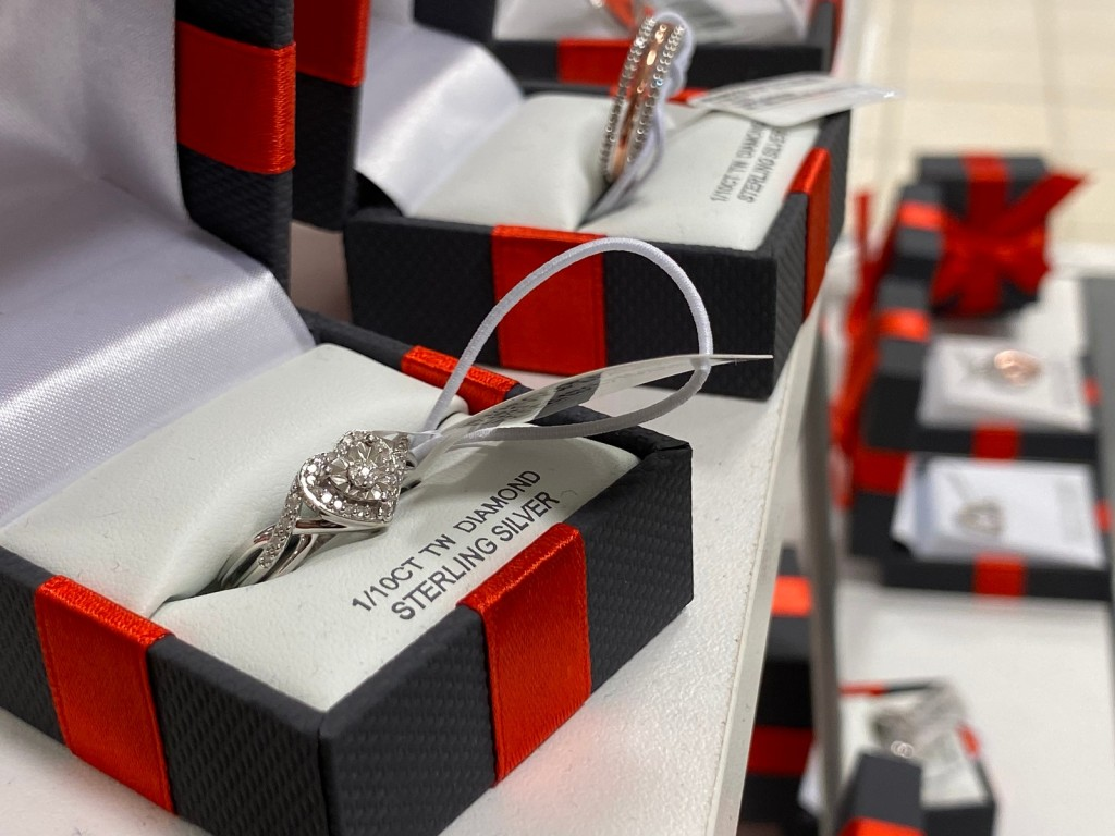 Heart Ring in JcPenney gift box