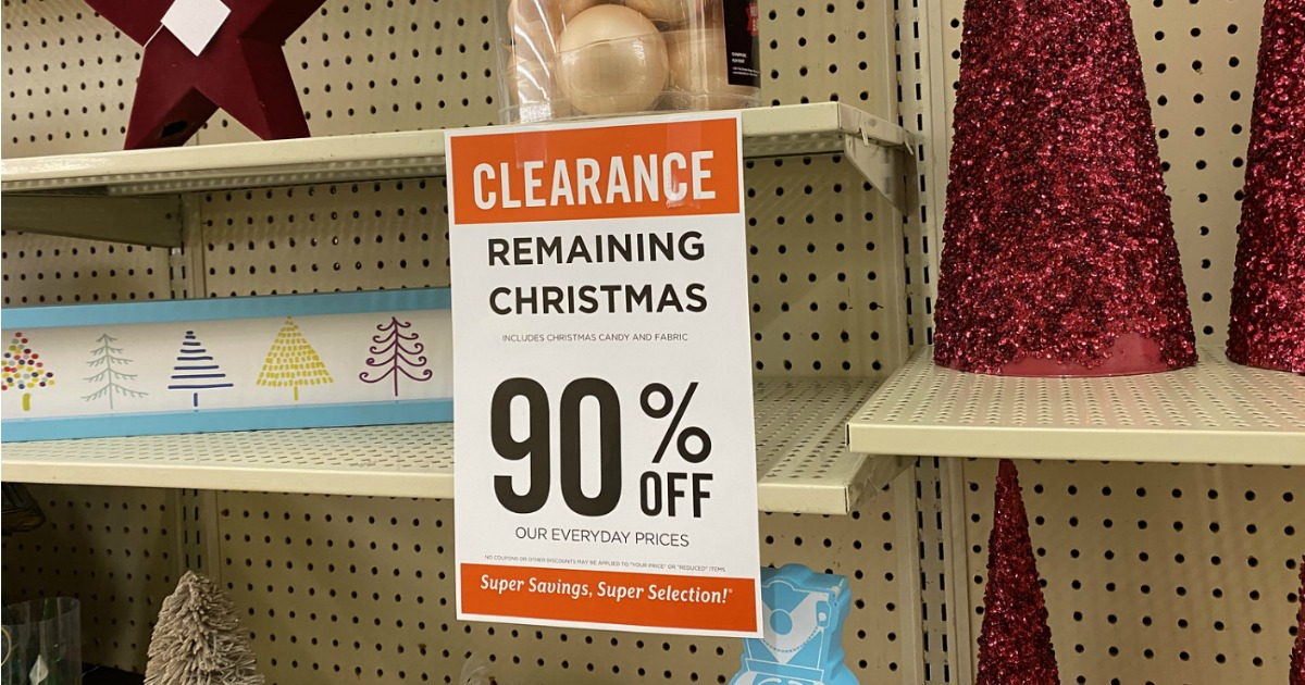 Hobby Lobby Christmas Clearance
