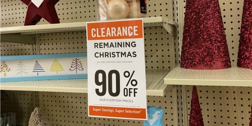 90% Off Christmas Clearance at Hobby Lobby | Ornaments, Masks, Mugs, & More