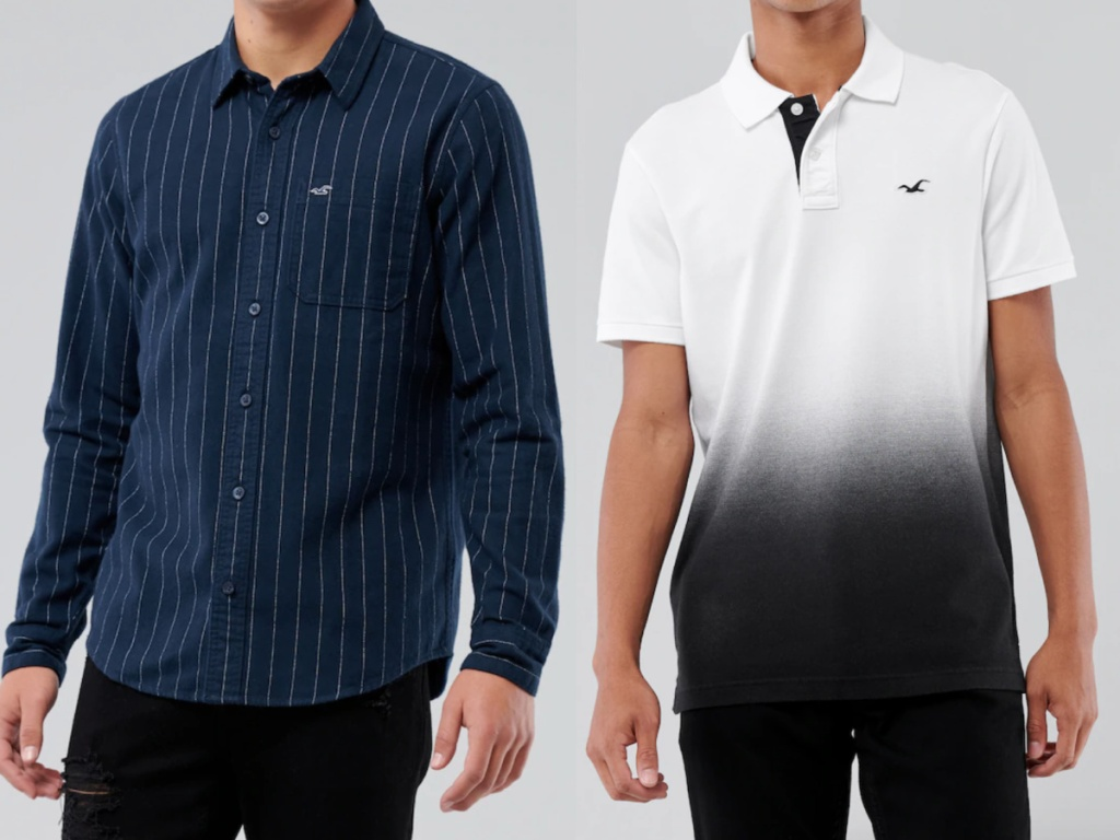 hollister men's clothing