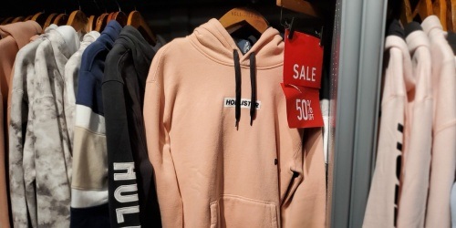 Up to 80% Off Hollister Apparel   Sweatshirts Under $10 & Much More