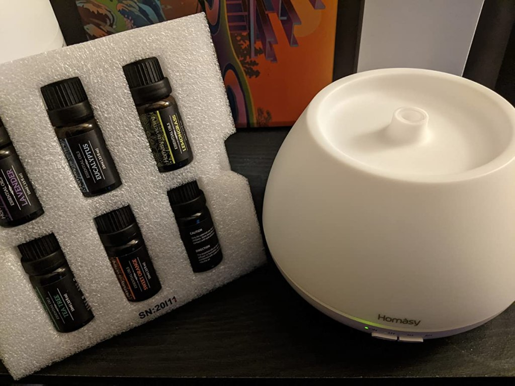 Homasy Oils and Diffuser