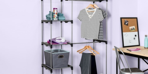 Honey-Can-Do Double Rod Freestanding Closet Only $19.97 on NordstromRack.com (Regularly $159)
