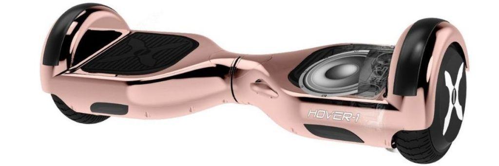 Hover-1 Rose Gold Matrix Hover Board closeup
