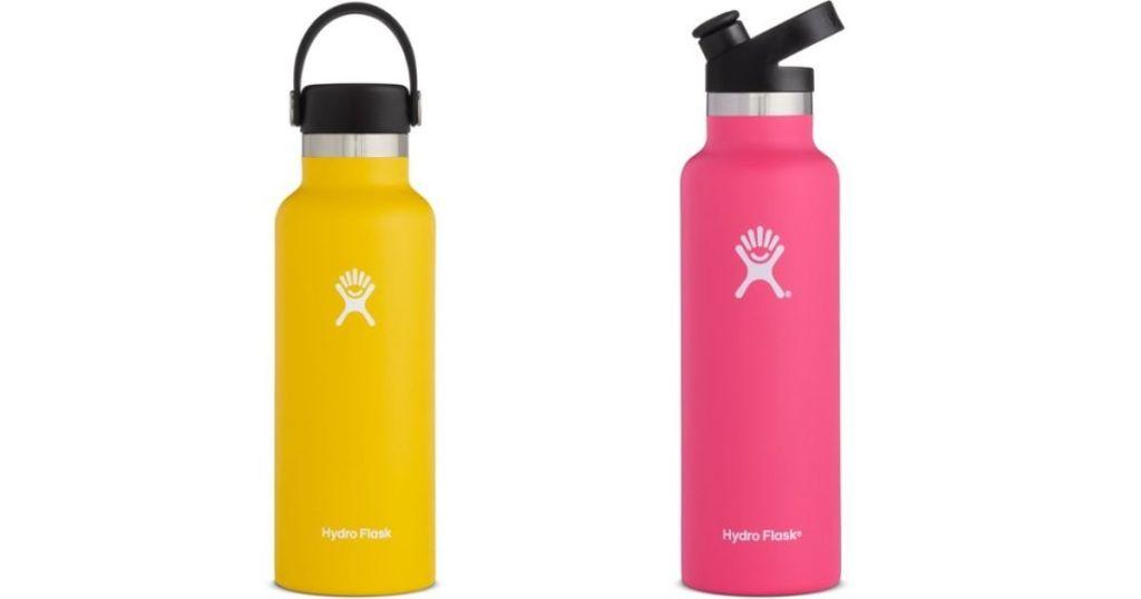 two Hydro Flask Tumblers