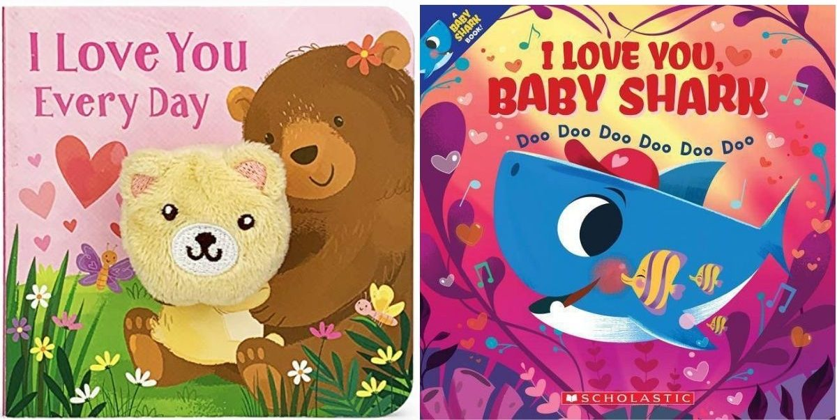 I love you valentines day books for kids