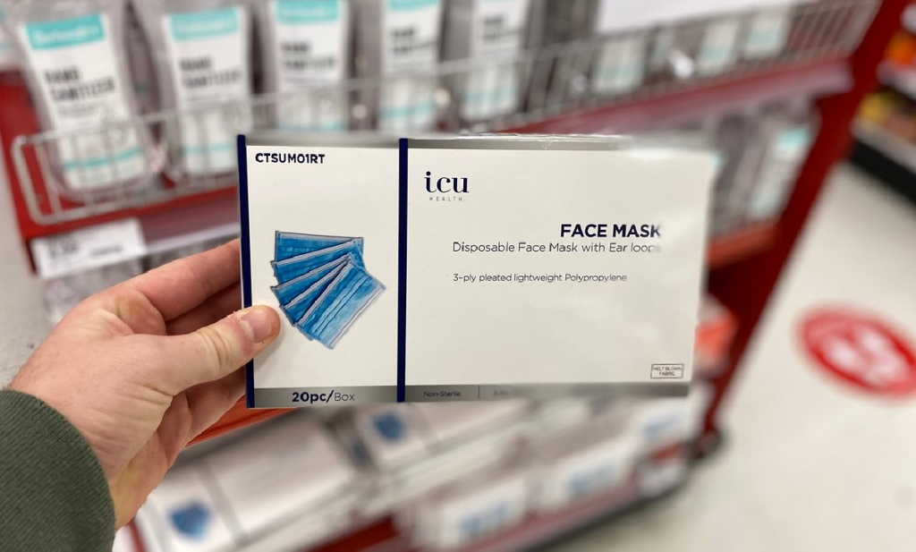 ICU Health Non-Medical Face Mask 20-Count