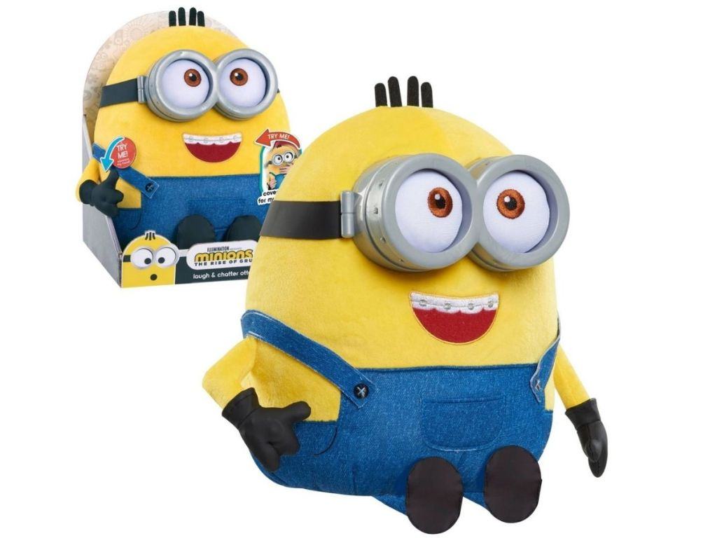 minion in and out of package