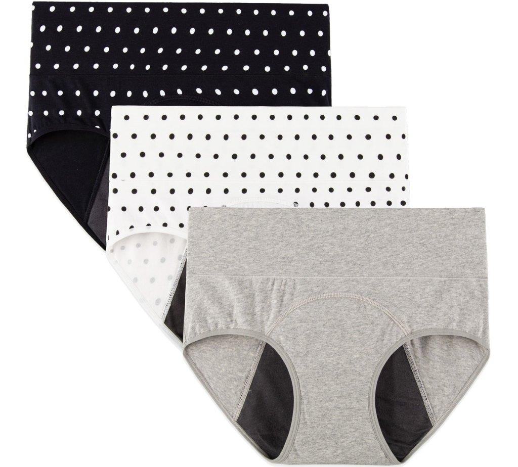 3-pack of high waisted women's underwear