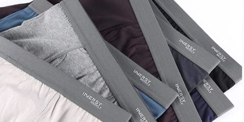 Men's Boxer Briefs 7-Pack Just $24.49 Shipped on Amazon | Only $3.49 Per Pair