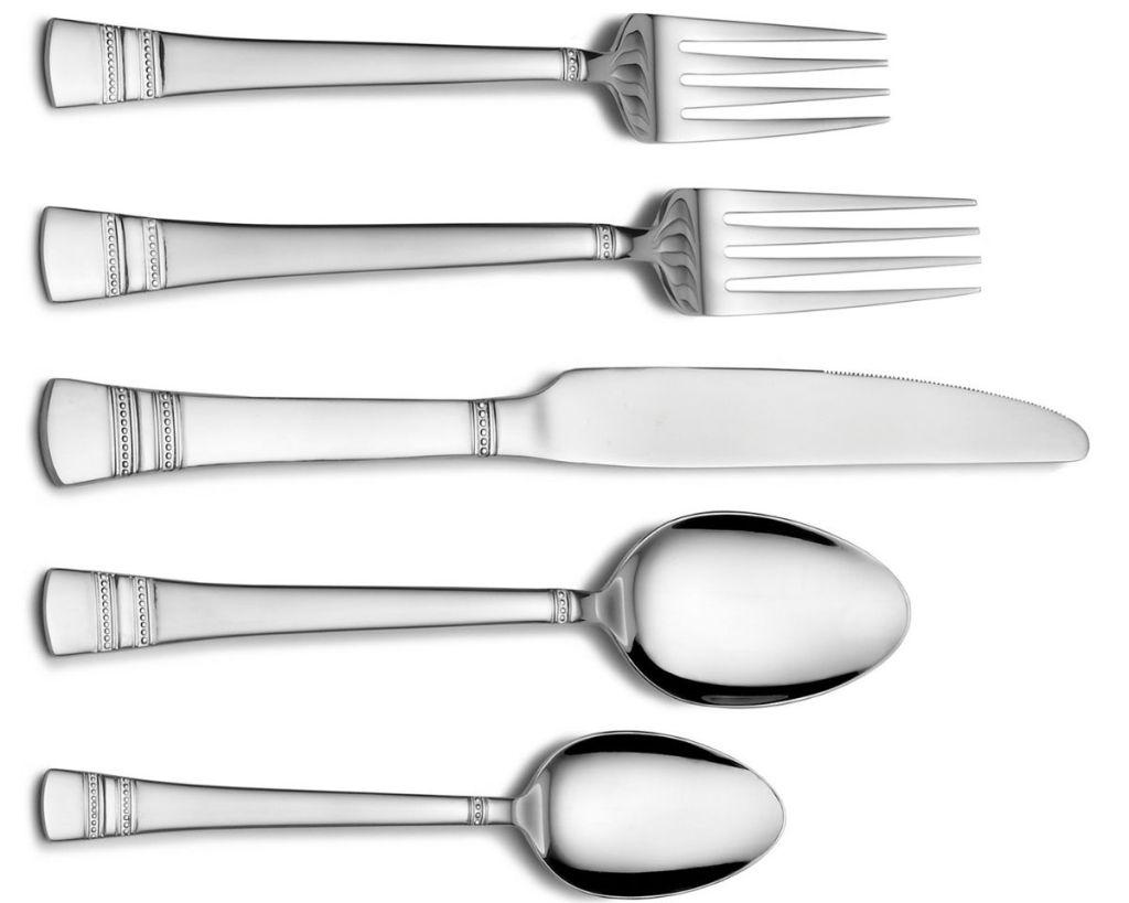 International Silver Kensington Flatware Set place setting
