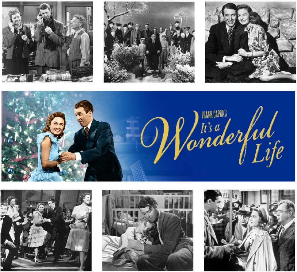 It's a wonderful life collage of pictures