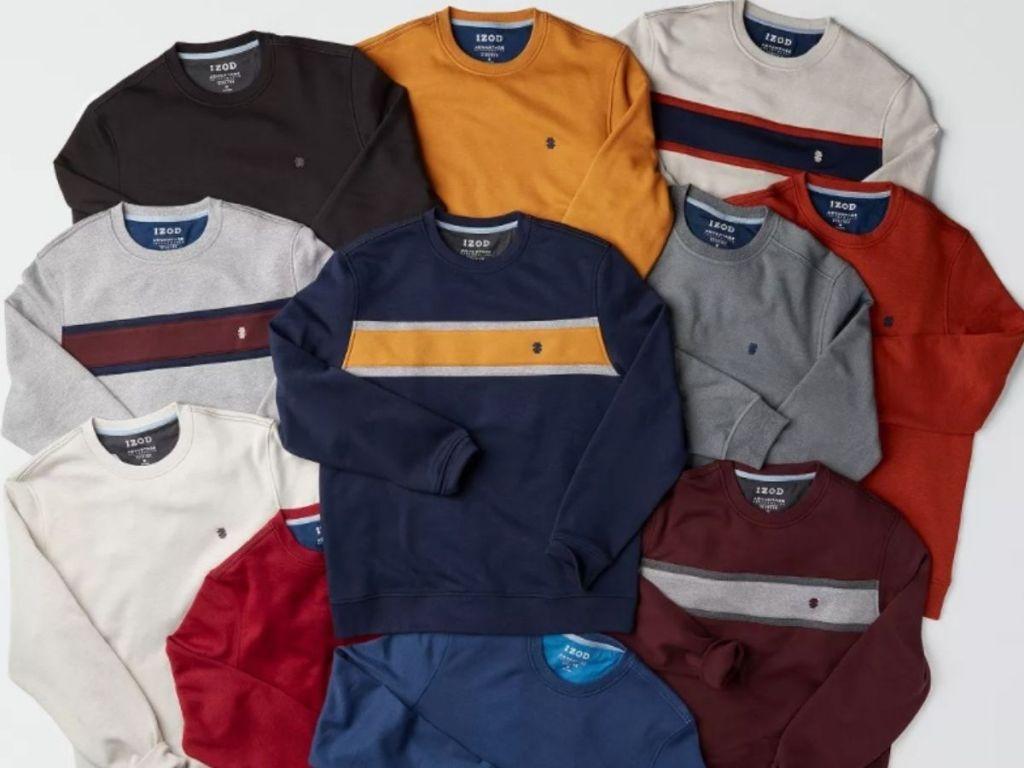 Izod Men's Fleece Pullovers