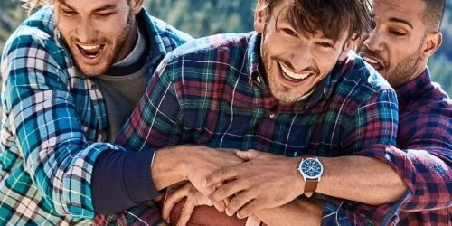 IZOD Men's Flannel Shirts or Fleece Pullovers Only $11.55 (Regularly $55) + Free Shipping for Select Kohl's Cardholders