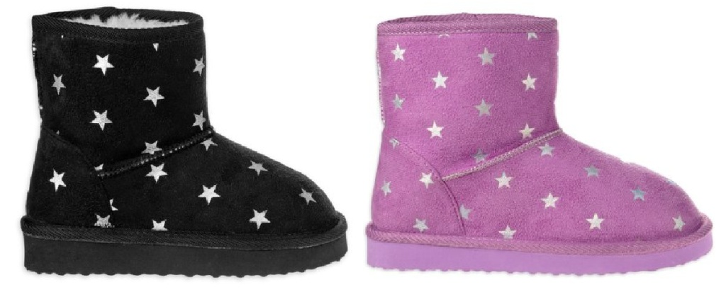 Josmo Star Power Faux Shearling Cozy Mid-Calf Winter Boots
