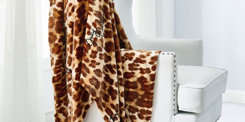 Juicy Couture Plush Throws from $19.99 on Macys.com (Regularly $42+)
