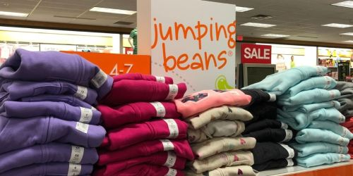 GO! Jumping Beans Fleece Pullovers Only $3.49 (Regularly $16) + Free Shipping for Select Kohl's Cardholders