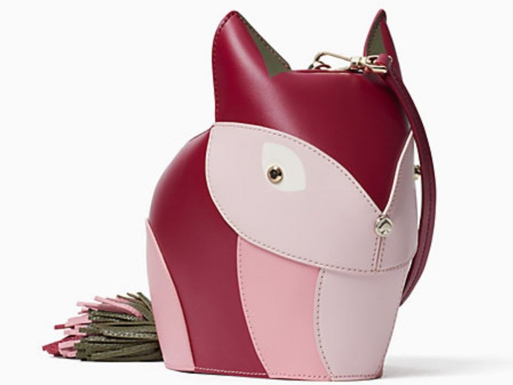 front view of Kate Spade Fox Crossbody