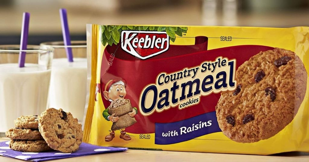 Country Style Oatmeal Cookies