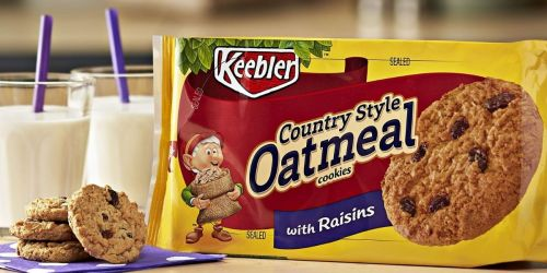 12 Keebler Country Style Oatmeal Cookie Packs Only $18.57 Shipped on Amazon | Just $1.55 Each