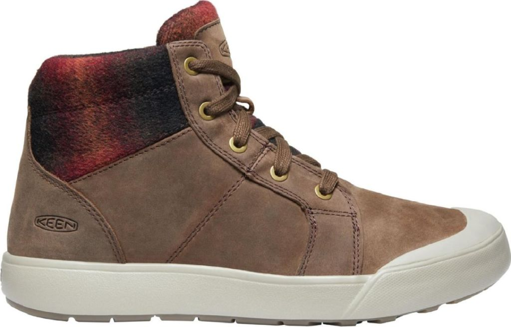 brown keen boot