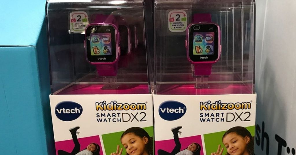 Kidizoom Smartwatch on display at a store