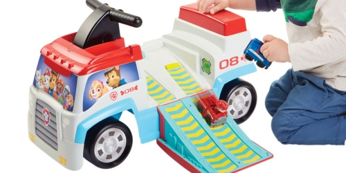 Paw Patrol Toddler Ride-On Vehicle Only $15 on Walmart.com (Regularly $40)